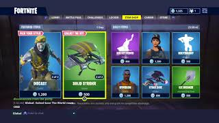 New Fortnite Diecast Skins and Chromium Skin + Persuader Harvesting Tool