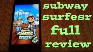 полный обзор игры subway surfers v 1.9.0 sydney