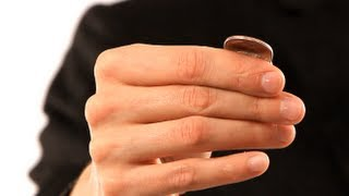 How to Do the Coin Bend Trick | Coin Tricks