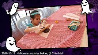 [2019-10-19] Citta Mall - Halloween Cookies Baking