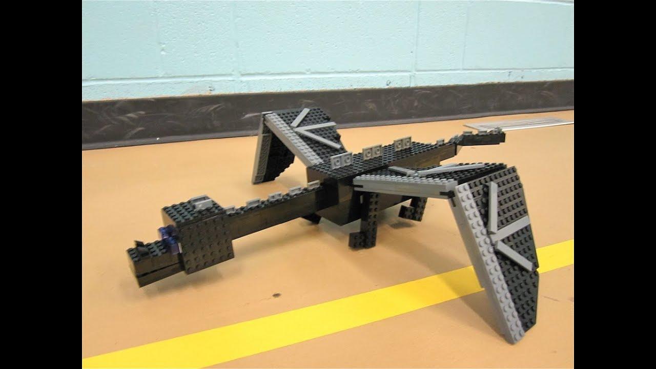 Lego Ender Dragon Minecraft Youtube