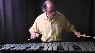 Etude No. 19 for Vibraphone by David Friedman, played by Stewart Hoffman