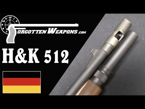 H&K 512 Old-School Tactical Shotgun