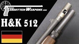 H&K 512 Old-School Tactical Shotgun