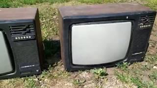 Телевізори Рекорд ВЦ 381. Розбір але радіо деталі і різні метали.