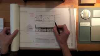 Architect's Design Process : Modern Barn Studio Part Ii - Elevations