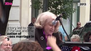 Gay marriage activist Edith Windsor dies at 88