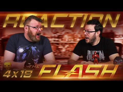 "The Flash 4x18 REACTION!! ""Lose Yourself"""