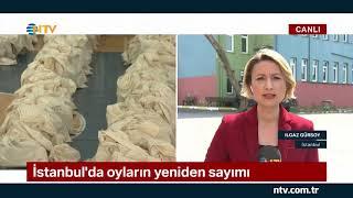 İstanbul'da oyların yeniden sayımı sürüyor ... (AKP ile CHP arasındaki farkta son durum)