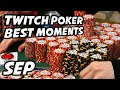 Poker on Twitch Best Moments | September