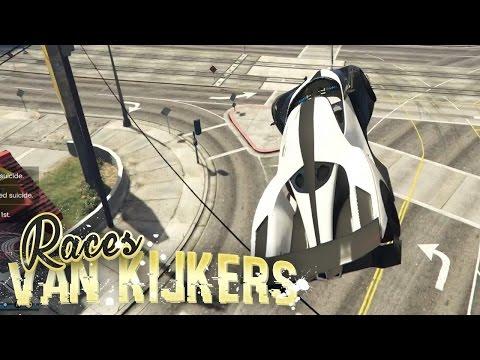 IK BEN SCHEEF! - Races van Kijkers #22 (GTA V Online Funny Races)