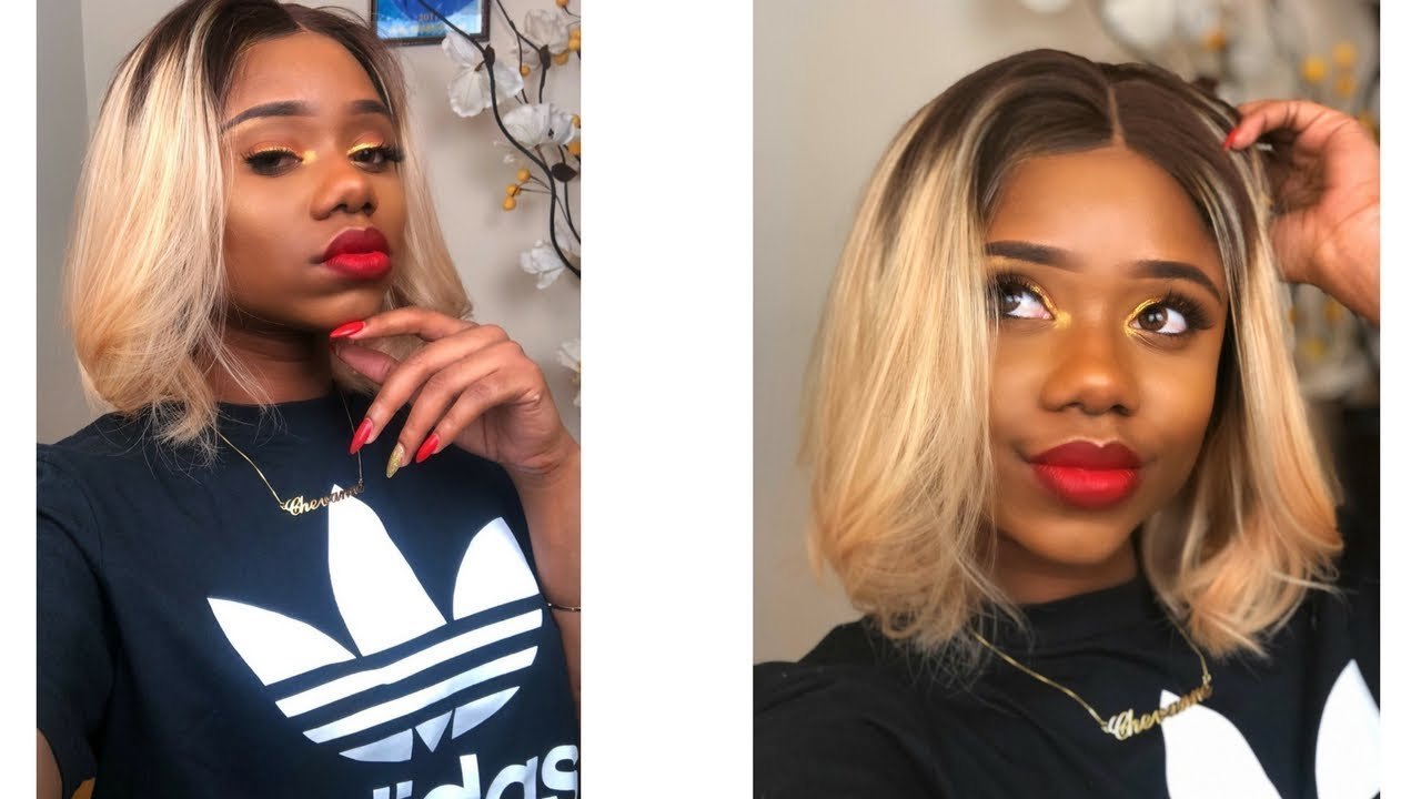 BLACK GIRLS CAN ROCK BLONDE HAIR TOO ! || WowAfrican - YouTube