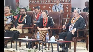 NZ Prime Minister Jacinda Ardern & Pacific Mission at Change through Advocacy Tonga Youth Programme