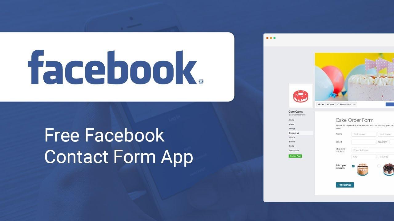 123FormBuilder App for Facebook - Tutorial