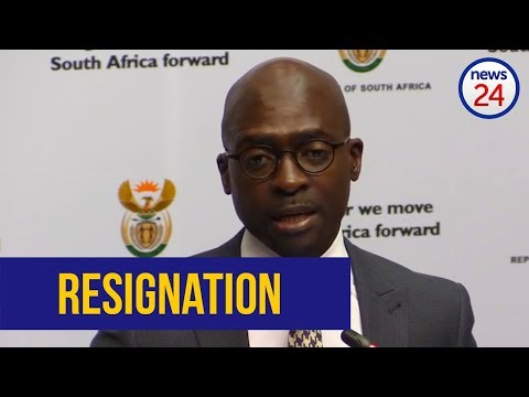 WATCH: Malusi Gigaba resigns from Cabinet