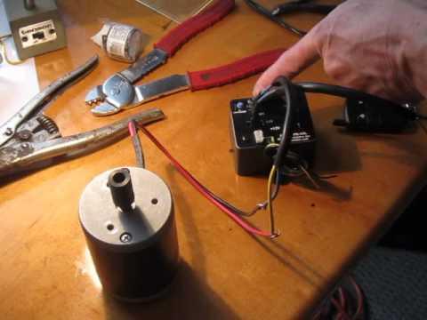 RF12V1PR RF Remote Control Reverse Polarity 12VDC Motor Control set up
