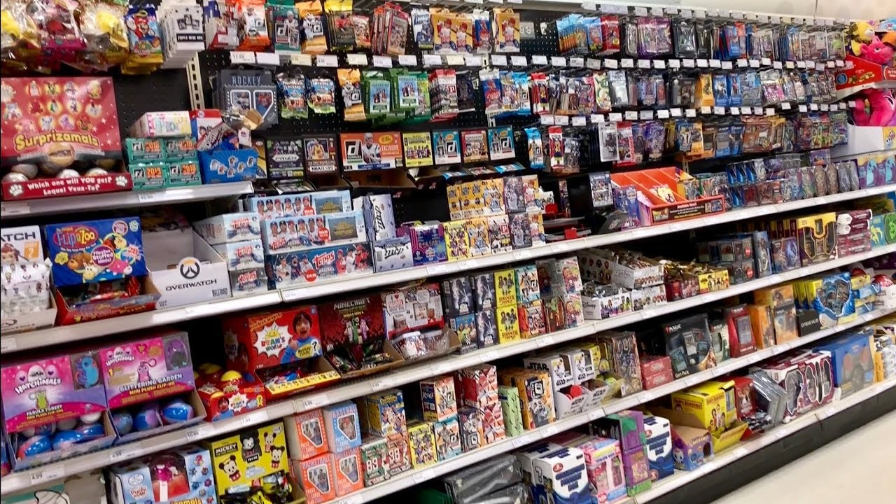 Target Vs Walmart Retail Baseball Card Shopping