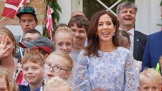 видео Роза Kronprinsesse Mary