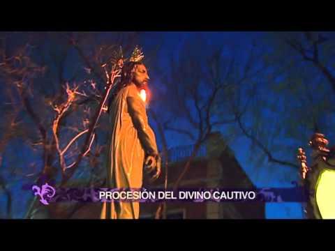 La Procesión Del Divino Cautivo, Por El Barrio De Salamanca