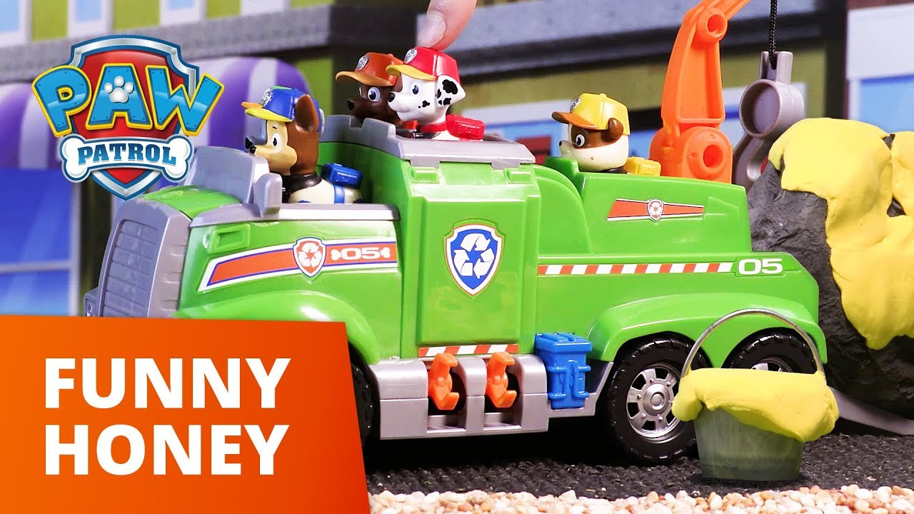 PAW Patrol | Funny Honey | Toy Episode | PAW Patrol Official & Friends