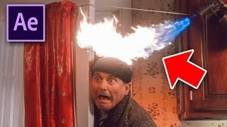 Set your head on FIRE with AFTER EFFECTS (Home Alone)