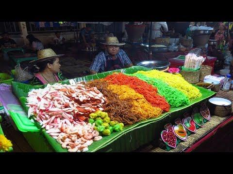 Thai Night Street Food   Thai Market Of Khon Kaen