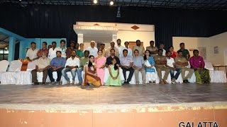 An interesting live theatre performance by Papanasam team
