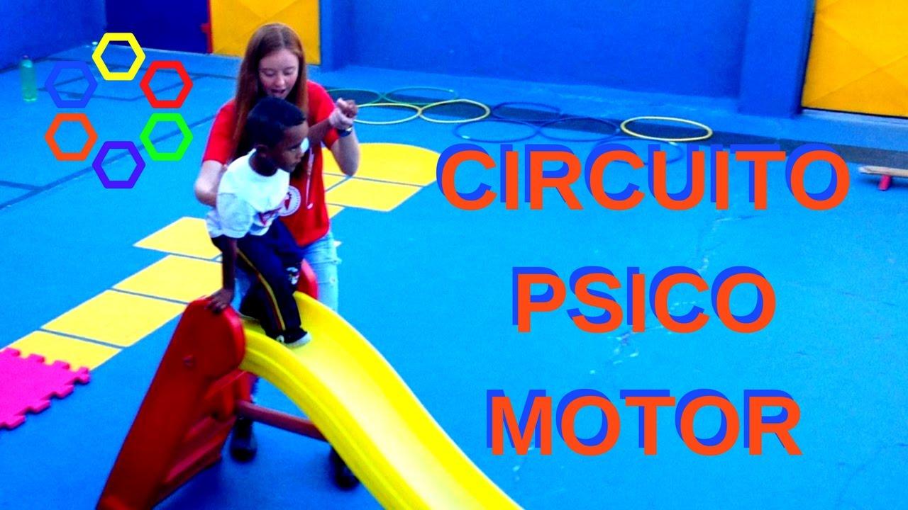 Circuito Not : Circuito psicomotor youtube