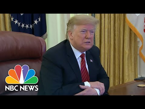 President Donald Trump Talks About Border Wall Plans And Government Shutdown | NBC News Mp3