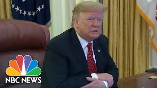 President Donald Trump Talks About Border Wall Plans And Government Shutdown | NBC News