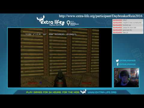 Extra Life Super Stream May 2016 Part 8 (Doom 64 EX)