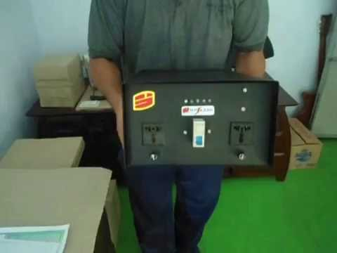 INVERTER DC TO AC SOLAR POWER GENERATOR OFF ON GRID TIE PURE TRUE MANUFACTURER INDONESIA