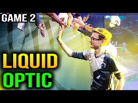SHIT JUST GOT REAL LIQUID VS OPTIC - ESL One Katowice 2018 - Game 2