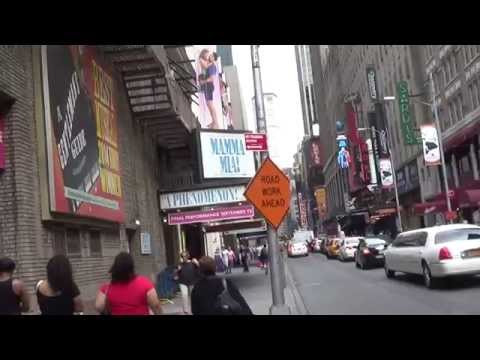 Theaters on Broadway a Video Tour on Sunday May 17, 2015