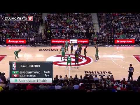 NBA】Boston Celtics vs Atlanta Hawks - Full Game Highlights November 18, 2017 2017-18 NBA Season
