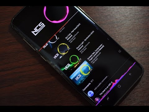 Download NavBar Music Visualizer for Samsung Galaxy S8, S8+ and Note 8