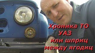 Хроника технического обслуживания УАЗ