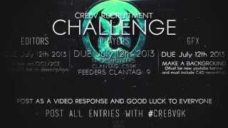 Cre8v: 9K Recruitment Challenge! [CLOSED]