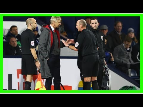 Referee dean admits error in controversial arsenal game