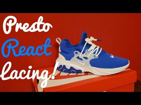 Presto React Lacing Tutorial ( Human Race Style ) thumbnail
