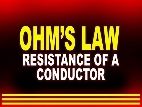 Ohm's Law   Resistance of a Conductor   Physics4students