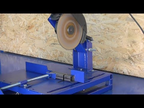 Make your own large angle grinder stand
