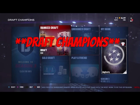 CAN WE WIN WITH AJ McCarron at starting QB?! -Draft Champions! Madden 17