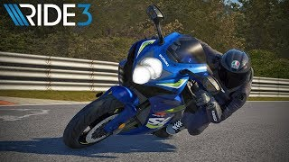 Ride 3 - Episode 2 - Suzuki GSX-R600 at Nürburgring