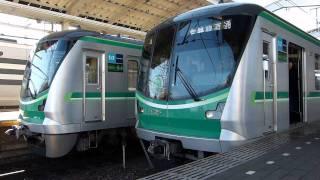 【東京メトロ】16000系16007F ローレル賞記念ディスプレー 代々木上原駅