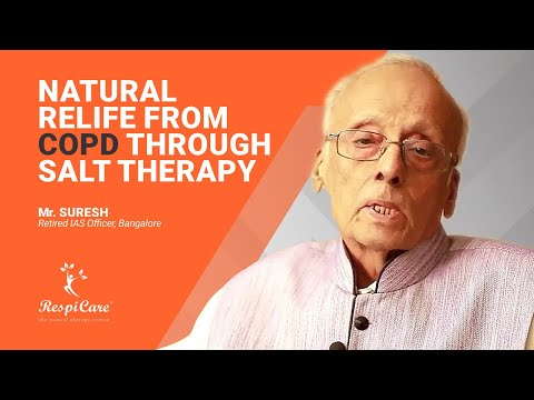 Review for Chronic Obstructive Pulmonary Disease (COPD) Treatment   RespiCare Salt Therapy
