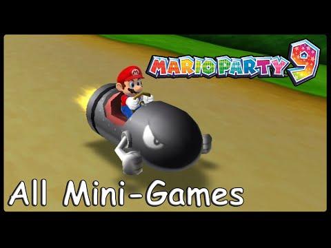Mario Party 9 All Minigames