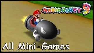 Mario Party 9 All Minigames