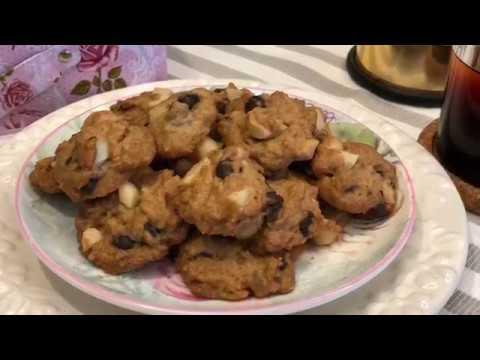 Macadamia Nut Chocolate Chip Cookies 夏果巧克力粒饼干