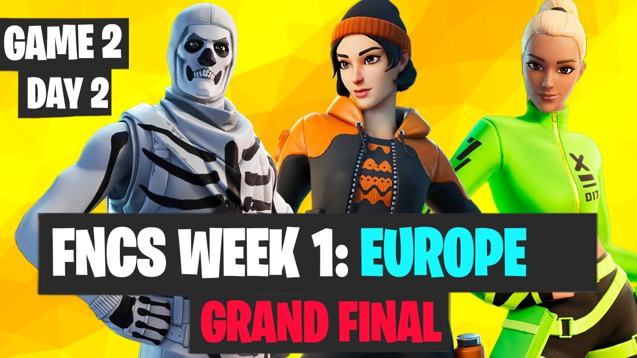 FNCS Week 1 Dat 2 Final Game 2 Highlights EUROPE
